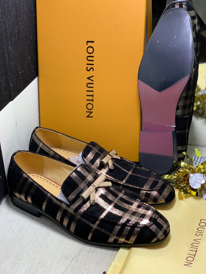 Louis Vuitton leather shoe