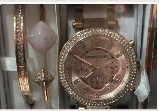 Michael Korrs wristwatch with bracelet