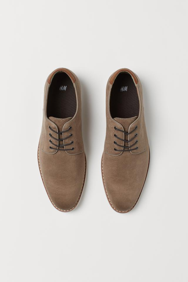 H&M Brown suede shoe